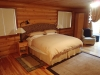 king bed in Cowichan Suite