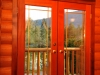 Nitinat Suite balcony doors